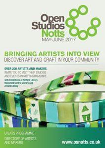 Open Studios Notts 2017 brochure